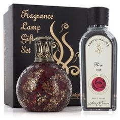 6d5688fd6f Ashleigh and Burwood Small Dragon s Eye with Rose Fragrance Lamp Gift Set