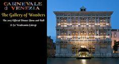 La Galleria delle Meraviglie official Carnival Dinner Show and Ball