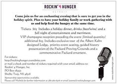 Rockin' 4 Hunger, Inc. presents A Classic Holiday Gala Corporate Events, Benefit, Classic, Holiday, Derby, Vacations, Holidays