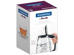 Chaleira Elétrica Tramontina Transparenza - 1,7L com as melhores condições você encontra no Magazine Edisiosilvameira. Confira!