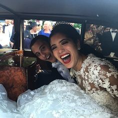 Vogue's TNT Attends a Wedding Extravaganza in France