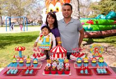 1st birthday party ideas for boys | Items used in this party available in Kara's Party Ideas Shop :