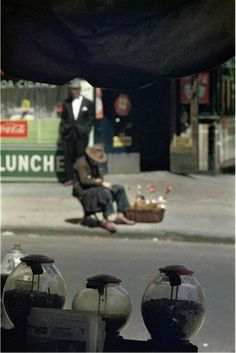 Saul Leiter  started shooting color and black-and-white street photography in New York in the 1940s. He had no formal training in photo...