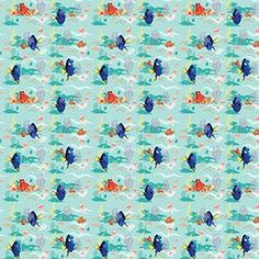 Finding Dory Gift Wrap Roll, x 5 Ft for sale online Birthday Gifts For Girls, Birthday Shirts, Birthday Parties, Finding Dory, Baby Bottles, Girl Gifts, Gift Wrapping, Wrapping Papers, Boy Or Girl
