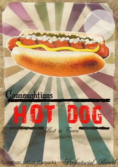 Hot Dog Posters