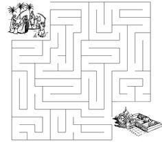 Triumphal Entry Maze - Sermons4Kids.com