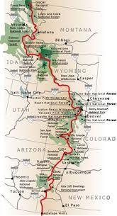 Continental Divide Trail Colorado Continental Divide Trail Map - Cdt trail map