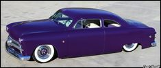 Flat Paint in PPG Purple for Wes's 1949 Custom Shoe Box