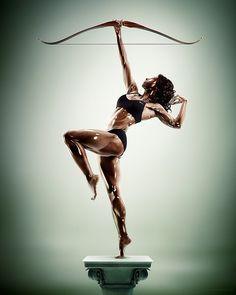 Sculpture Athletes by Tim Tadder