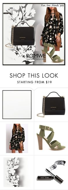 """""""Untitled #21"""" by helena96-i ❤ liked on Polyvore featuring By Lassen, Givenchy, Élitis and Bobbi Brown Cosmetics"""