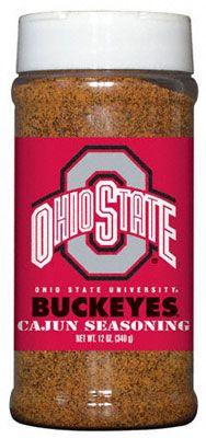 Ohio State Buckeyes Cajun Seasoning #UltimateTailgate #Fanatics