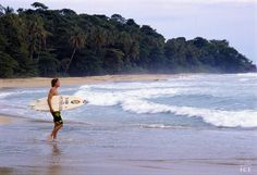 Surf in the Caribbean Coast of Costa Rica!