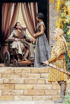 Doran Martell and Ellaria Sand