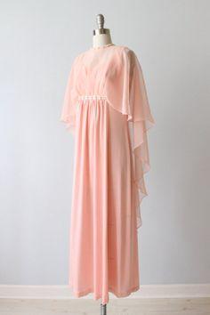 Vintage 1970s Dress / Formal Dress / Evening by TheVintageMistress