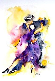 Isabel Civit Watercolor