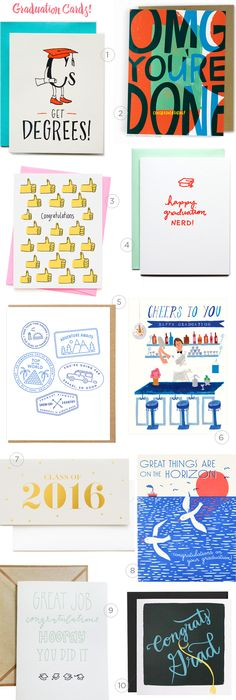 2016 Graduation Card Round Up by Oh So Beautiful Paper