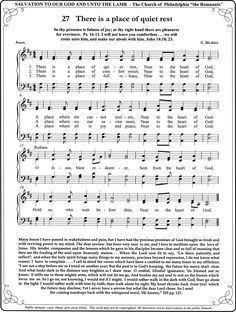 The United Methodist Hymnal 707 In The Bulb There Is A