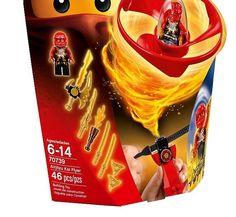 LEGO Ninjago Airjitzu Kai Flyer 70739 Building Kit Mini-figure Red Mini-fig #LEGO