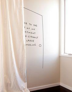 door bedroom whatisblik aesthetic graphics beige apartment rooms blik decal inspo living