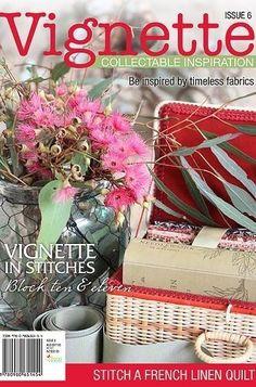"""""""Vignette - Issue 6"""" designed by Leanne Beasley for Leanne's House."""