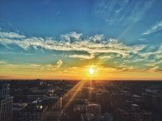 Chicago summer sunsets...