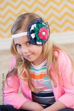 Flower headband by SESSOOOPRETTY on Etsy, $10.50