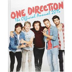 River Island One Direction official 2015 annual ($2) ❤ liked on Polyvore featuring home, home decor, office accessories, one direction, 1d, sale and river island