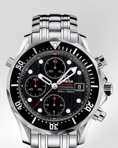 My every day go to - OMEGA Seamaster 300 M Chrono Diver - Steel on steel - 213.30.42.40.01.001
