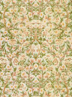 Blossom Wallpaper by William Morris