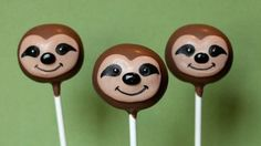 12 Cute Sloth Cake Pops for Zootopia party by SweetWhimsyShop Zoo Birthday, 10th Birthday Parties, Birthday Stuff, Birthday Ideas, Sloth Cakes, Superhero Party Favors, Hipster Wedding, Cute Sloth, Cute Cakes