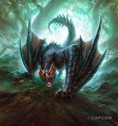 Los Nargacuga son wyverns voladores que se han adaptado a vivir en zonas boscosas. Estas astutas bestias acechan a sus presas desde las sombras con gran velocidad y persistencia y sus enormes colas son tan hábiles como mortales.