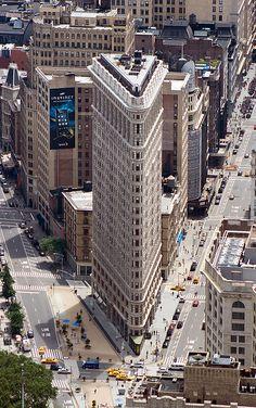 Flatiron Building in Manhattan, New York, USA
