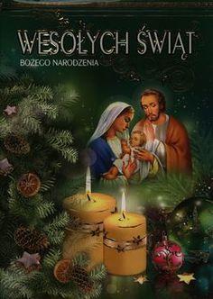 Karnet świąteczny A5 KABN religijny świecki Christmas Nativity, Christmas Holidays, Xmas, Christmas Ornaments, Legolas, Holy Night, Yule, Merry, Holiday Decor