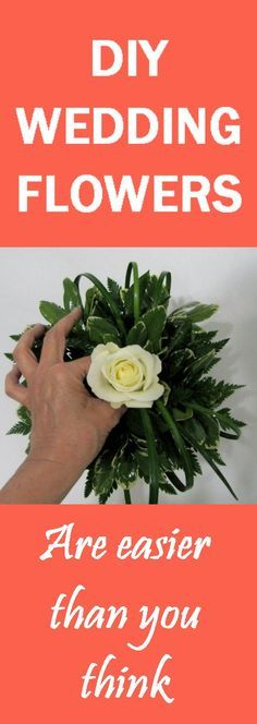 Make Your Own Wedding Flowers - Easy Tutorials  Learn how to make bridal bouquets, corsages, boutonnieres, reception table centerpieces and church decorations. Buy wholesale fresh flowers and discount florist supplies.