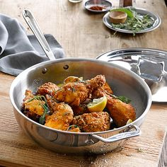 All-Clad d5 Stainless-Steel Essential Pan http://www.williams-sonoma.com/