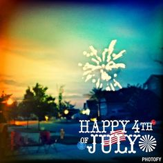 Nocatee residents enjoyed watching fireworks  in honor of Independence Day! There's always something going on at Nocatee!