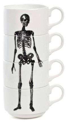 skeleton mugs. OH MY GOSH......you have NO idea how badly I want these!!!!!!