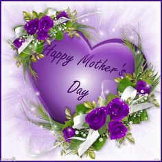 68 best mothers day greetings images on pinterest mothers day purple heart and flowers find this pin and more on mothers day greetings m4hsunfo