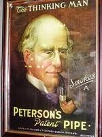 The Thinking Man... #Peterson #Tobacco #Pipe