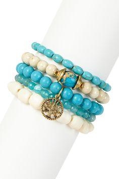 Tree of Life Bracelet Set by mariechavez on @HauteLook