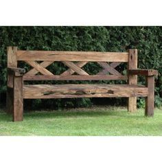 Find This Pin And More On Bank. Beautiful Outside Benches Patio Furniture  ...