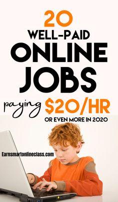 Best Online Jobs, Online Jobs From Home, Legitimate Online Jobs, Online Work, Best Jobs, Work From Home Careers, Work From Home Companies, Work From Home Opportunities, Best Careers For Moms