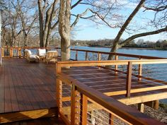 Deck Railing Photo Gallery - Stainless Steel Cable Railing