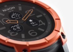 Introducing the Mission #Smartwatch by Nixon, the world's first action #sports smartwatch. This timepiece was designed to stay with you all the elements and any terrain.
