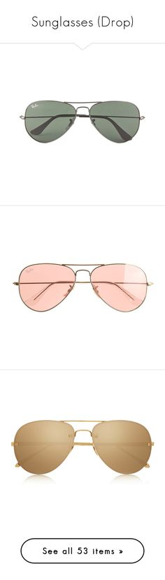 """""""Sunglasses (Drop)"""" by giovanna1995 ❤ liked on Polyvore featuring men's fashion, men's accessories, men's eyewear, men's sunglasses, glasses, sunglasses, accessories, fillers, men and mens aviator sunglasses"""