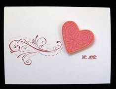 easy valentine cards, stampin up Valentine Love Cards, My Funny Valentine, Valentines, Valentine Mailboxes, Making Greeting Cards, Greeting Cards Handmade, Chocolate San Valentin, Anniversary Cards, Scrapbook Cards