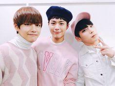 Taehyung Bogum Himchan | dude bogeom's sweater is niiicceee