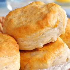 A classic easy biscuit recipe that will fill the house with sweet aromas of home cooking.