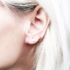 15+Cool-Girl+Ear+Piercings+We+Discovered+on+Pinterest+via+@ByrdieBeauty