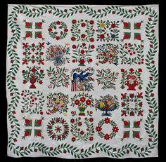 Beautiful Baltimore Album quilt!  http://quilltr.blogspot.com/  Source: Julie Silber from The Quilt Complex
